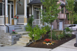 Image of LID providing beautiful curb appeal - Land Technologies